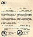 Autorizarea lui Iuliu I. Mezei Câmpeanu pentru tratative cu Guvernul Sovietic Maghiar privind schimbul de familii.jpg