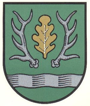 Axstedt - Image: Axstedt Wappen Farbe