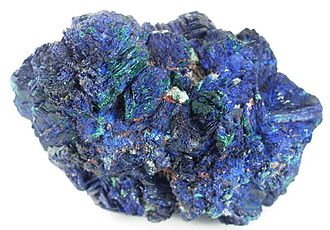 Daye - Azurite-malachite from Daye's Tongshankou Mine