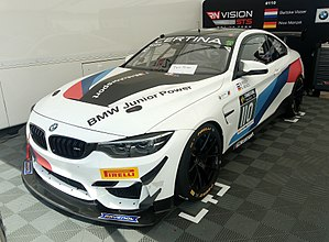 The Bmw M4 Gt4 As Raced By Nico Menzel And Beitske Visser