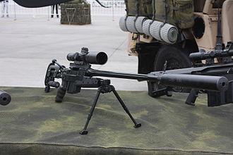 Brügger & Thomet APR - Chilean Army APR338 suppressed in Fidae 2016
