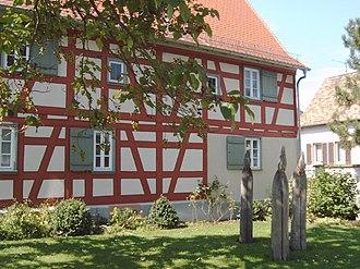 Riedstadt - Georg Büchner's birth house