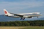 B 6113 Airbus A330-243 A332 - CCA (21213547156).jpg