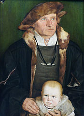 Hans Urmiller and his son