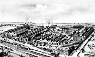 Doosan Babcock - Image: Babcock & Wilcox Limited Works Renfrew Scotland circa 1919
