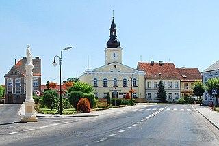 Babimost Place in Lubusz Voivodeship, Poland