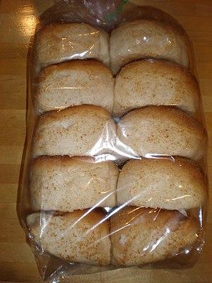 A bag of pandesal