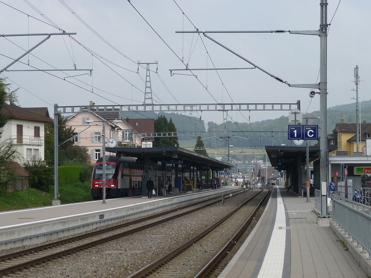 affoltern am albis railway station wikipedia