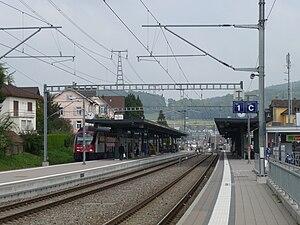 Affoltern am Albis railway station - Image: Bahnhof Affoltern am Albis 1