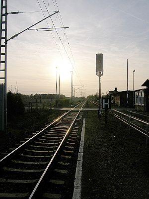 Berlin–Görlitz railway - Kunersdorf station