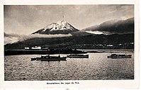 Baia das Lajes do Pico com a montanha em pano de fundo, Arquivo de Villa Maria, Terceira, Açores.jpg