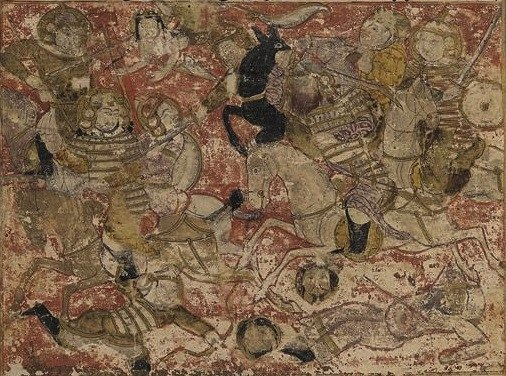 Balami - Tarikhnama - Battle of Siffin (cropped)