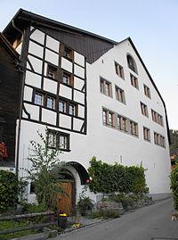 Balgach, altes Rathaus.JPG