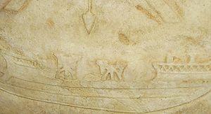 Battle of Actium - Ballistae on a Roman ship