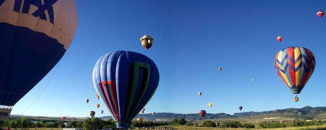 Heißluftballon Wettfahrt image source