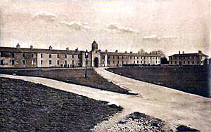 Ballymullen Barracks - Ballymullen Barracks