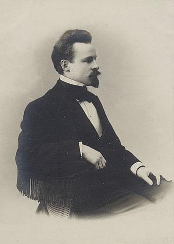 К.Д.Бальмонт в 1880-е годы