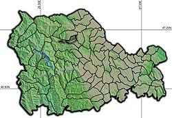 Vị trí của Baltatesti