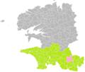 Bannalec (Finistère) dans son Arrondissement.png