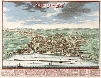 Banten - Banten City, year 1724