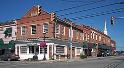 Main Street in Barboursville in 2007