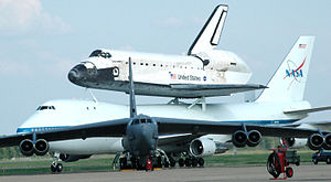 Space Shuttle Discovery landing at Barksdale A...