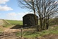 Barn beside the A361 at Signet - geograph.org.uk - 1226551.jpg