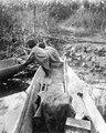 Barn i kanoter. Sydamerika. Bolivia - SMVK - 005581.tif