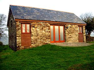 Converted barn - A converted barn
