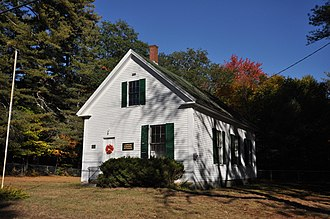 National Register of Historic Places listings in Strafford County, New Hampshire - Image: Barrington NH Canaan Chapel