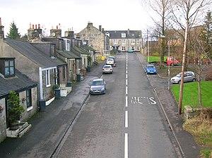 Barrmill, North Ayrshire - Image: Barrmill mainstreet