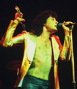 Golden Earring - Lead singer Barry Hay in 1974