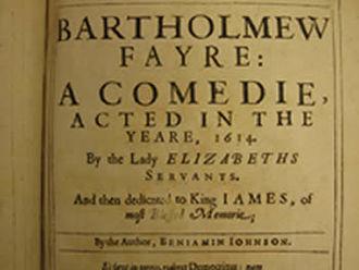 Bartholomew Fair (play) - Title page of Bartholomew Fair: A Comedy.
