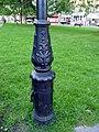 Base of Lamp Post, Winchmore Hill Green, London N21 - geograph.org.uk - 2603954.jpg