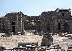 Basilica at Bosra, Syria. - 5468556518.jpg