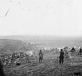 Battle of Nashville - Federal outer line, December 16, 1864