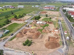 "Niedernberg - The first section of the ""Tafeläcker"" building area"