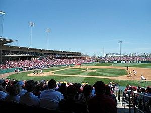 Baum Stadium - Baum Stadium, April 2013