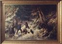 Bear-Hunting in the Winter (Wilhelm Wallander & Alfred Wahlberg) - Nationalmuseum - 18030.tif
