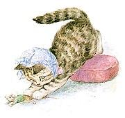 Beatrix Potter, Miss Moppet, Catches Mouse