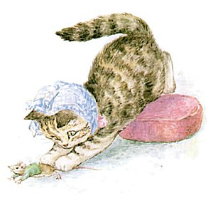 Beatrix Potter, Miss Moppet, Catches Mouse.jpg