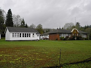 National Register of Historic Places listings in Clallam County, Washington - Image: Beaver School NRHP 92001591 Clallam County, WA