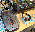 Behringer VMX-200 DJ mixer + Denon DN-2500F dual CD player + RC-44 remote controller.jpg