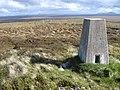 Beinn Ruadh trig point S7088 - geograph.org.uk - 1340472.jpg