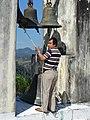 Bell-Ringer at Parroquia de San Agustin - Xilitla - San Luis Potosi - Mexico (46386233802).jpg
