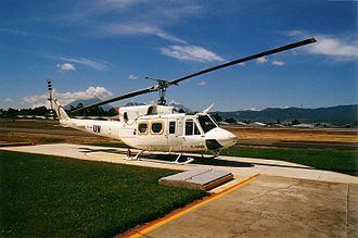 History of United Nations peacekeeping - Alpine Helicopters contract Bell 212 on MINUGUA peacekeeping duty in Guatemala, 1998