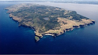 Bell Island (Newfoundland and Labrador) - Aerial view of Bell Island