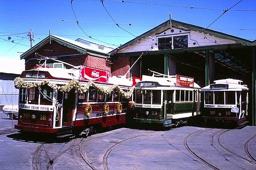 Bendigo trams 1987