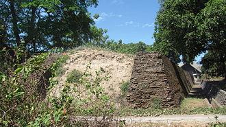 Gowa Regency - Western wall of the fortress