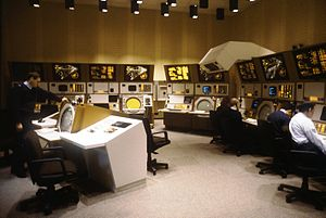 Berlin Air Safety Center - The Berlin Air Route Traffic Control Center (BARTCC) in 1987.